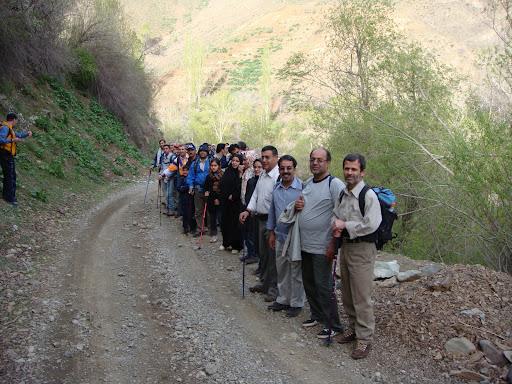 مسیر فرحزاد به امامزاده داوود 870130