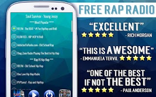 Screenshot of Free Rap Radio