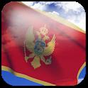 3D Montenegro Flag icon
