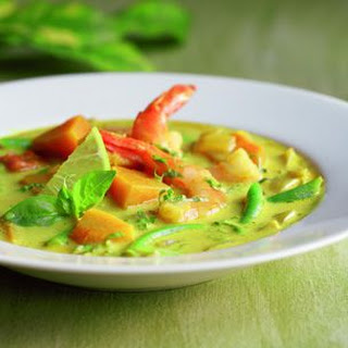 Thai Shrimp and Squash Soup