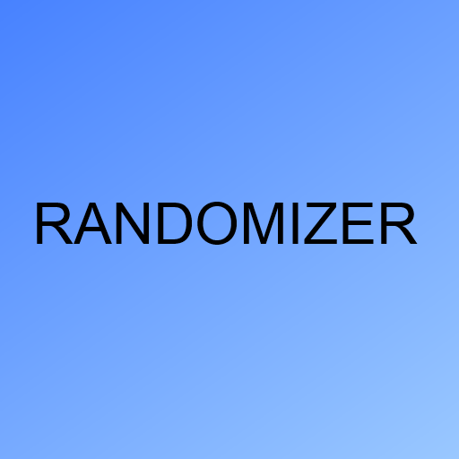 Randomizer LOGO-APP點子