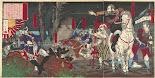 RIJKS: Yoshimune (II) , Utagawa, Matsuki Tomekichi, Miyoshi Shojo: print 1877