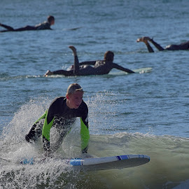 HB Surfer by Jose Matutina - Sports & Fitness Surfing ( orange county, surfer, huntington beach )