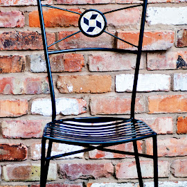 The Chair by Andrew Robinson - Artistic Objects Furniture ( chair, mosaic )