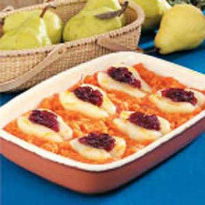Sweet Potato Pear Bake