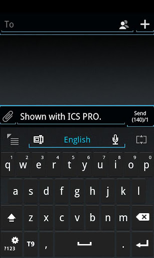 GO Keyboard ICS Skin