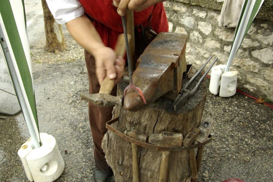 Fête médiévale à Cruas (Ardèche) - Et puis de ne pas trop réfléchir permet d'aller vite et de ne pas trop souffrir du froid