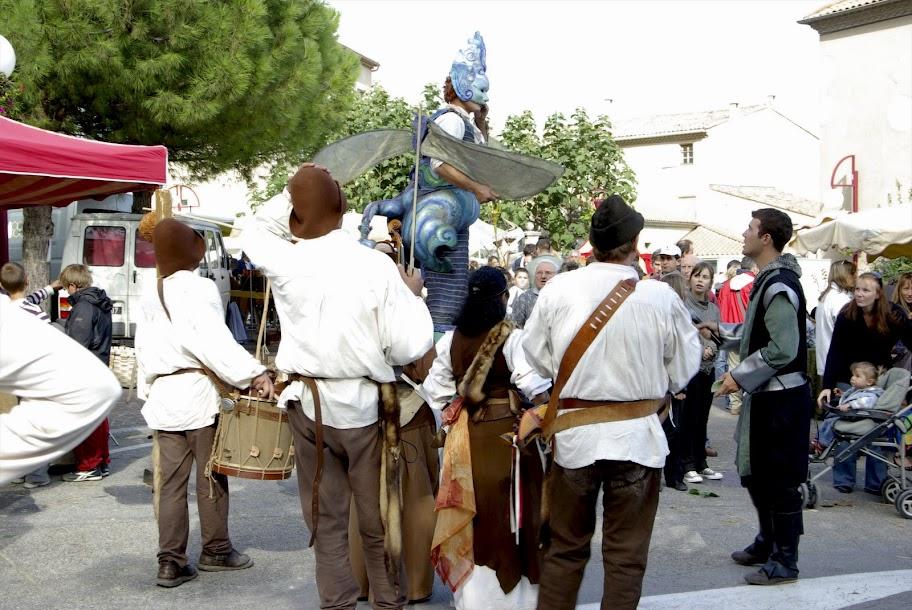Fête médiévale à Cruas (Ardèche) - Et lorsque ménestrels et elfes se mélangent…