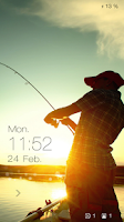 Screenshot of Fishing Live Locker Theme