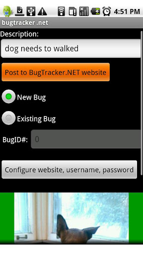 BugTracker.NET for Android