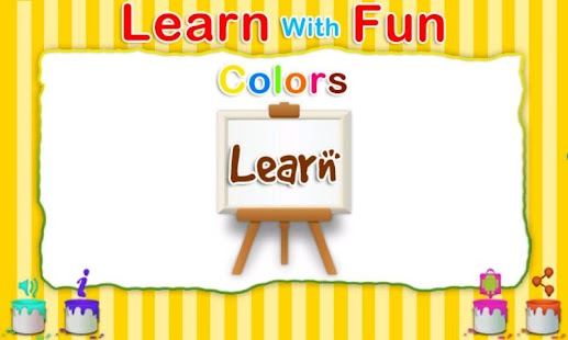 Learn With Fun - Colors - screenshot