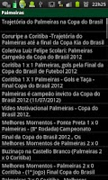 Screenshot of Noticias sobre o Palmeiras