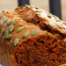 Reduced Calorie Pumpkin Bread