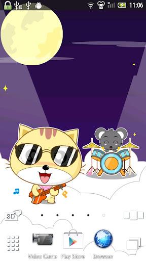 开心猫 动态壁纸