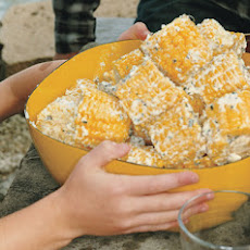 Corn on the Cob with Mint-Feta Butter