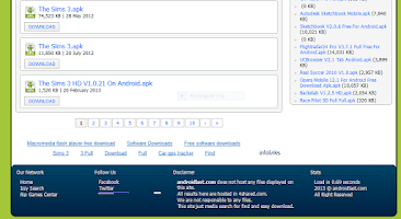 Screenshot of APK Search Engine