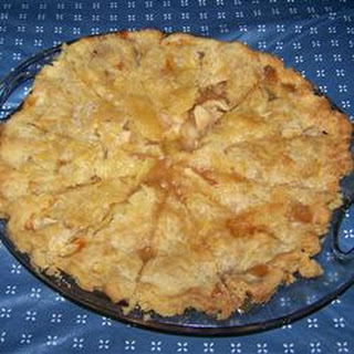 Quick Caramel Apple Pie