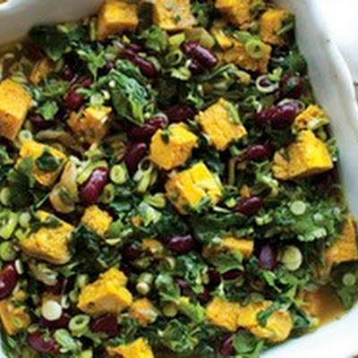 Green Herb and Kidney Bean Stew (Ghormeh Sabzi) from 'The New Persian Kitchen'