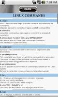 Screenshot of Linux Commands Tutor