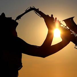 *** by Zanna Zaka - People Musicians & Entertainers ( music, estonia, sunset, summer, people )