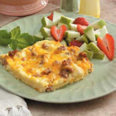 Sausage and Cheddar Breakfast Casserole
