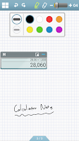 Screenshot of Calculator Note (Quick Memo)