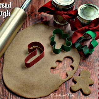 Gingerbread Play Dough