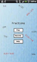 Screenshot of Fractions