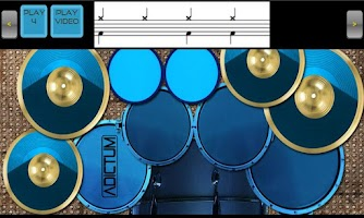 Screenshot of Adictum Drum Lessons - Free
