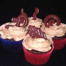 Cinco de Chili Chocolate Cupcakes with Chili Cream Cheese Frosting