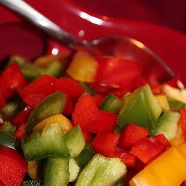 Peppers by Rhonda Mullen - Food & Drink Fruits & Vegetables