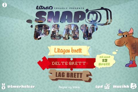 Litago Snap'n Play