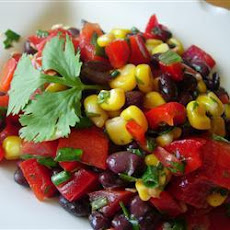 Black Bean and Sweetcorn Salad