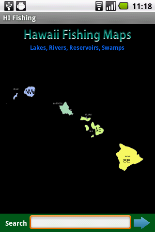Hawaii Fishing Maps - 2.8K