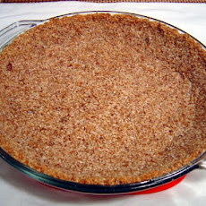 Low Sugar Coconut-Almond Pie Crust or Cheesecake Crust