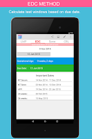 Screenshot of OB Calc Pro (Obstetrician)