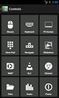 Screenshot of Extended PC Remote Control
