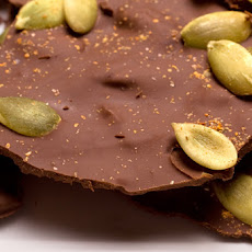 Chocolate-Toffee–Pumpkin Seed Bark Recipe