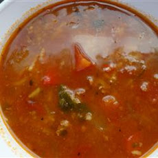 Stuffed Pepper Soup IV