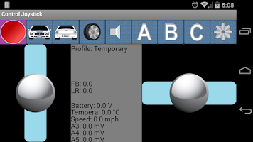 Screenshot of Arduino Joystick Controller