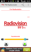 Screenshot of FM Radiovision Comodoro