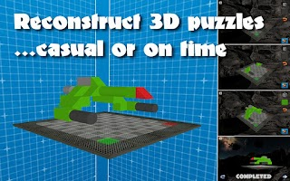 Screenshot of 3D Block Puzzle