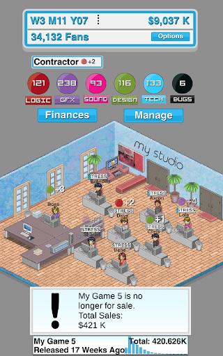 Game Studio Tycoon - screenshot