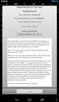 Screenshot of Touch Bible Loaded-Audio Bible
