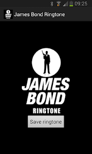 James Bond Ringtone - screenshot