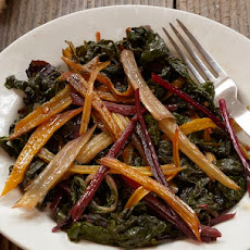 Marinated Rainbow Chard from 'Franny's'