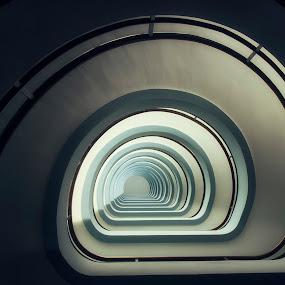Vertigo by Frank Quax - Buildings & Architecture Architectural Detail ( building, ceiling, staircase, public, city, Architecture, Ceilings, Ceiling, Buildings, Building )
