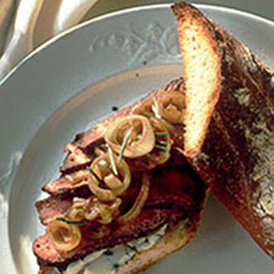 Peppered Steak Sandwiches