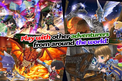 RPG Elemental Knights(3D MMO) Screenshot 11