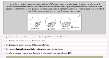 Screenshot of Simulador Examen ICFES